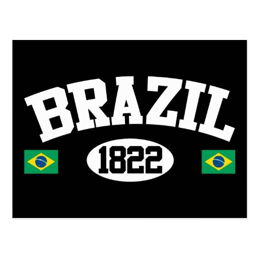 Brazil 1822 postcard