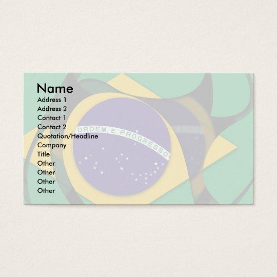 Brazil 1 business card