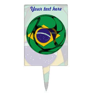 Brazil 1 cake topper