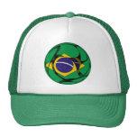 Brazil 1 mesh hats