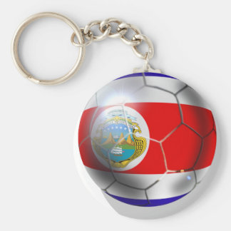 Brazil 2014 Costa Rica soccer team ball world cup Keychain