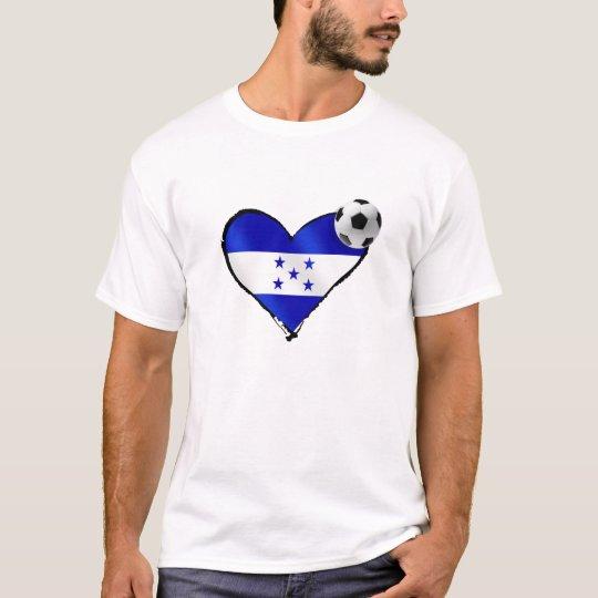 Brazil 2014 Honduras Flag World Cup Futebol T-Shirt