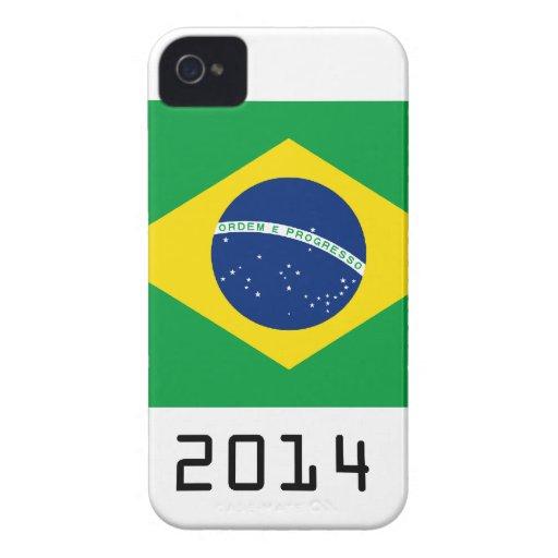 brazil 2014 iPhone 4 Case-Mate carcasa