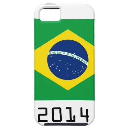 brazil 2014 iPhone 5 Case-Mate cárcasa