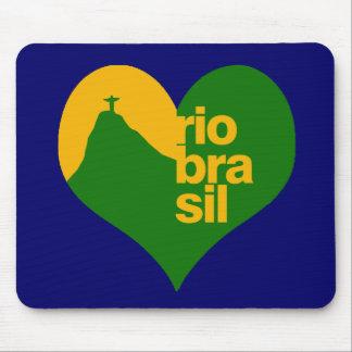 Brazil 2014 RJ Mouse Pad
