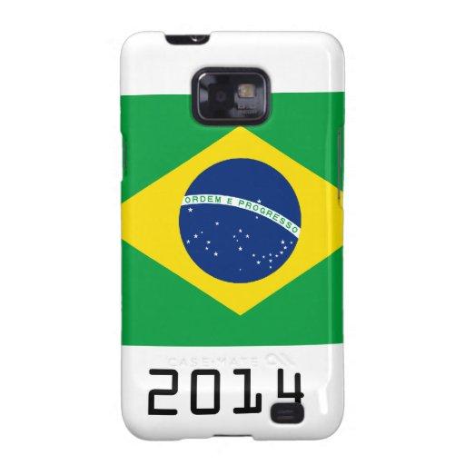 brazil 2014 samsung galaxy s2 fundas