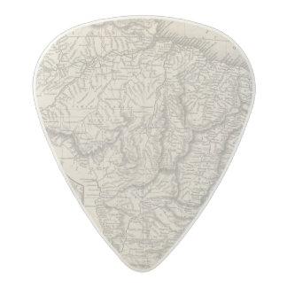 Brazil 2 acetal guitar pick
