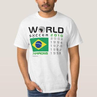 Brazil 5 Times World Cup Champions T-Shirt 2