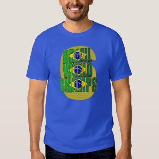 Brazil 6 times World Champions Hexa t-shirt