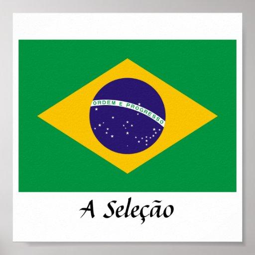 """Brazil """"A Seleção"""" Poster"""