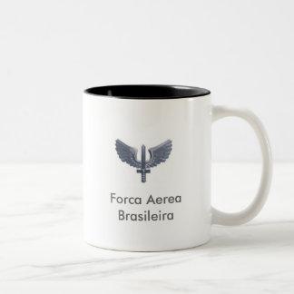 brazil air force, Forca AereaBrasileira Two-Tone Coffee Mug