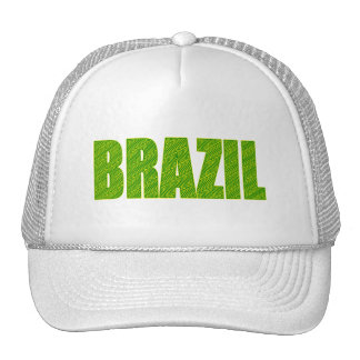 Brazil Amazon Plant Textures forest logo gifts Trucker Hat
