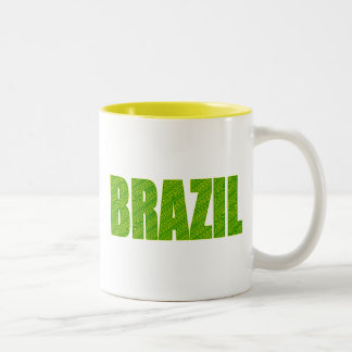 Brazil Amazon Plant Textures forest logo gifts Coffee Mug