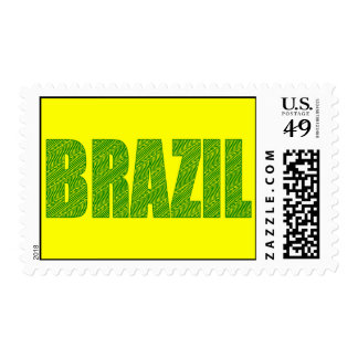 Brazil Amazon Plant Textures forest logo gifts Postage Stamps