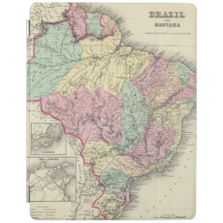 Brazil And Guayana iPad Cover