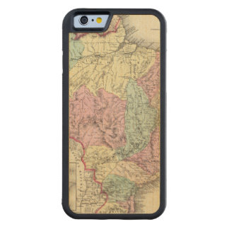 Brazil And Guayana Carved® Maple iPhone 6 Bumper