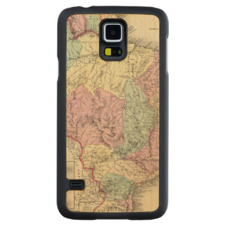 Brazil And Guayana Carved® Maple Galaxy S5 Case