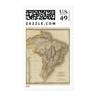 Brazil and Paraguay Postage