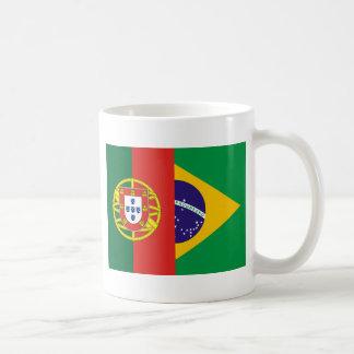 Brazil And Portugal, hybrids Classic White Coffee Mug