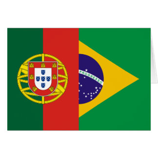 Brazil And Portugal, hybrids Greeting Card