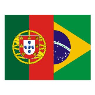 Brazil And Portugal, hybrids Postcard