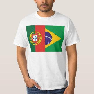 Brazil And Portugal, hybrids Tee Shirt