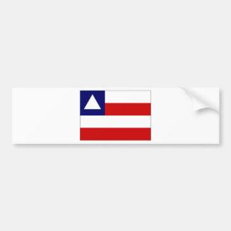 Brazil Bahia Flag Bumper Sticker
