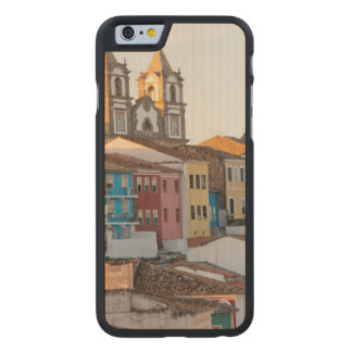 Brazil, Bahia, Salvador, The Oldest City Carved® Maple iPhone 6 Slim Case