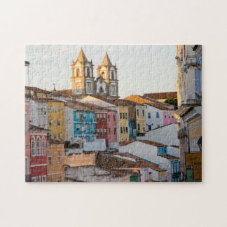 Brazil, Bahia, Salvador, The Oldest City Jigsaw Puzzle