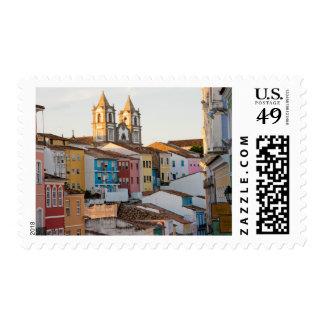 Brazil, Bahia, Salvador, The Oldest City Postage Stamp