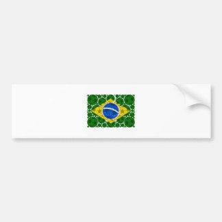 Brazil balls bumper sticker