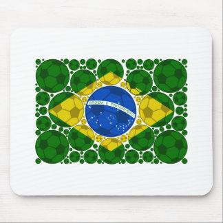 Brazil balls mouse pad