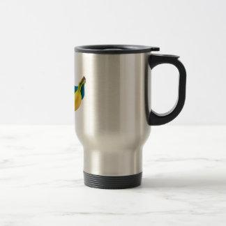 Brazil banana travel mug