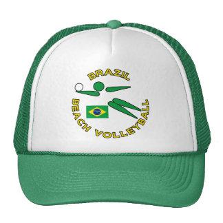 Brazil Beach Volleyball Trucker Hat