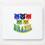 brazil bears mouse pad