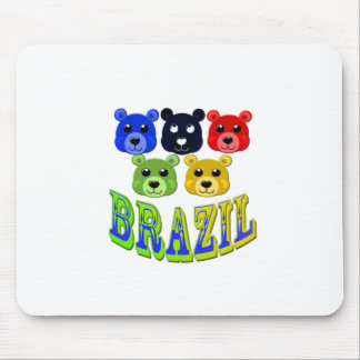 brazil bears mouse pad