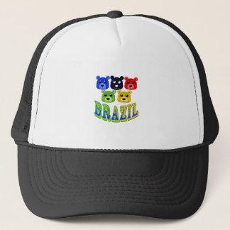brazil bears trucker hat