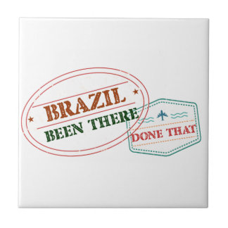 Brazil Been There Done That Ceramic Tile