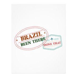 Brazil Been There Done That Letterhead