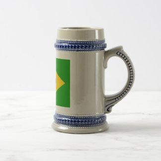 Brazil Beer Stein