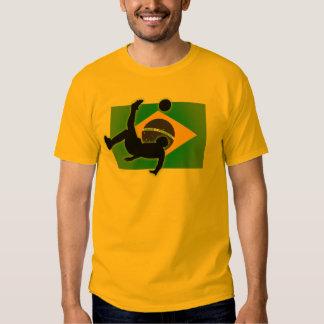 Brazil Bicycle Kick Tee Shirt