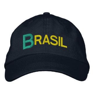 Brazil Big Letters Embroidered Baseball Hat