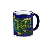 Brazil blood flesh and glory soccer futebol gifts coffee mug