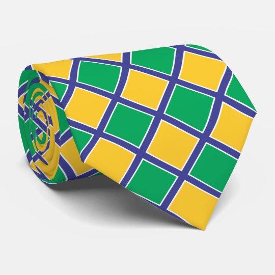 c260261d65d Brazil Brasil Flag Colors II Tie