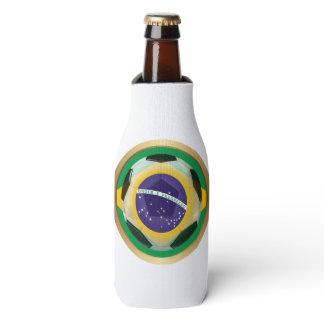Brazil / Brasil Soccer Ball Bottle Cooler