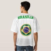 Brazil / Brasil Soccer Ball Men's Football Jersey
