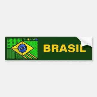 Brazil Brazil brazilian flag Bumper Sticker