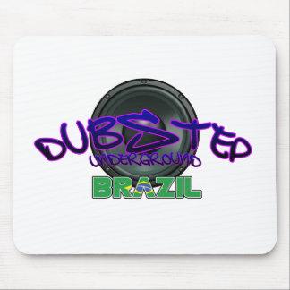 Brazil Brazilian DUBSTEP Dub Grime reggae Electro Mouse Pad