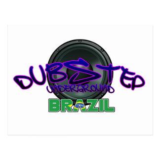 Brazil Brazilian DUBSTEP Dub Grime reggae Electro Postcard