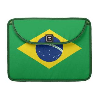 Brazil – Brazilian  Flag Sleeves For MacBook Pro